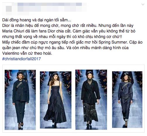 NTK Đỗ Mạnh Cường và giới mộ điệu Việt chê ỏng chê eo BST mới nhất của Dior - Ảnh 1.