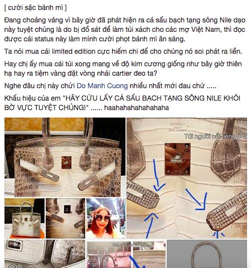 Chiếc túi Birkin bạch tạng giá 5 tỷ đồng của Hoa hậu Hải Dương bị tố là FAKE! - Ảnh 1.