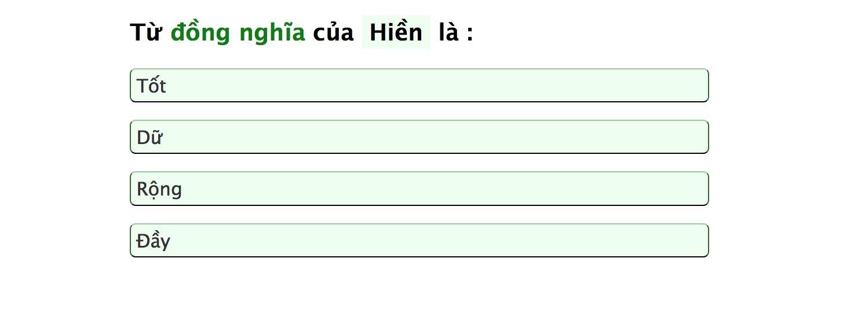 Dân mạng đang nháo nhào kiểm tra vốn từ vựng Tiếng Việt, còn bạn đã làm chưa? - Ảnh 3.