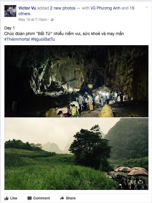 Lôi Báo còn chưa chiếu, Victor Vũ đã ra Quảng Bình quay phim mới với Jun Vũ và Đinh Ngọc Diệp - Ảnh 1.
