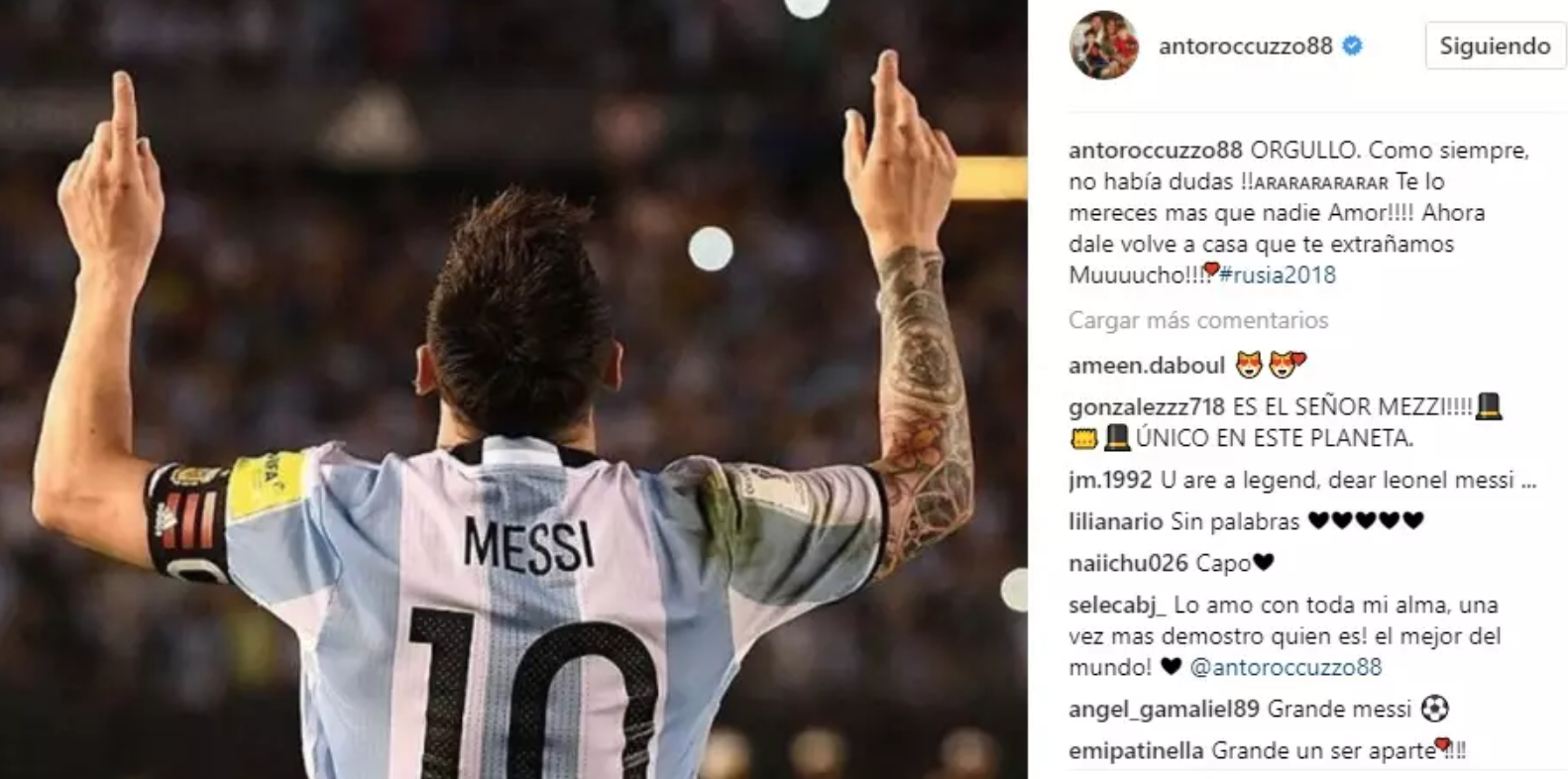 Antonella gửi thông điệp tình yêu đến Messi - Ảnh 1.