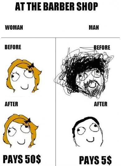 Thực tế chứng minh: Đàn ông vớ được thợ cắt tóc giỏi thì lột xác còn hơn cả phẫu thuật thẩm mỹ! - Ảnh 1.