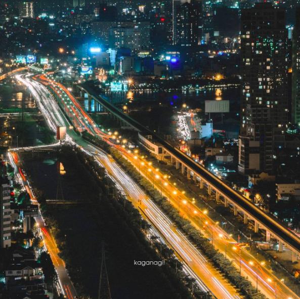 9x với loạt ảnh chụp từ trên cao khiến bạn ngỡ ngàng vì vẻ đẹp choáng ngợp của Sài Gòn - Ảnh 20.