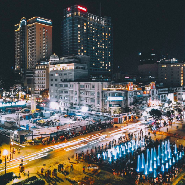 9x với loạt ảnh chụp từ trên cao khiến bạn ngỡ ngàng vì vẻ đẹp choáng ngợp của Sài Gòn - Ảnh 19.