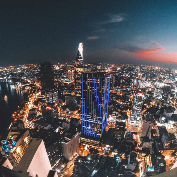 9x với loạt ảnh chụp từ trên cao khiến bạn ngỡ ngàng vì vẻ đẹp choáng ngợp của Sài Gòn - Ảnh 17.