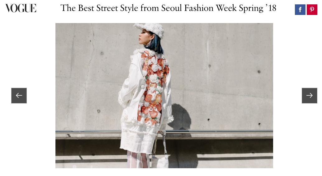 Ngày đầu tiên tại Seoul Fashion Week vừa kết thúc, Phí Phương Anh cùng Em Hoa đã lên ngay Vogue! - Ảnh 1.