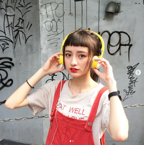 Cô bạn Đài Loan với tóc mái ngố giữa trán: Mặt đẹp thì chấp hết! - Ảnh 12.