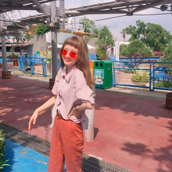 Cô bạn Đài Loan với tóc mái ngố giữa trán: Mặt đẹp thì chấp hết! - Ảnh 6.