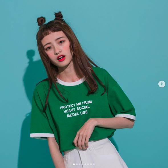 Cô bạn Đài Loan với tóc mái ngố giữa trán: Mặt đẹp thì chấp hết! - Ảnh 1.