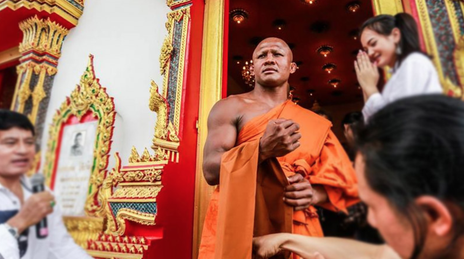 Vì sao Thánh Muay Thái Buakaw bất ngờ xuống tóc đi tu? - Ảnh 7.