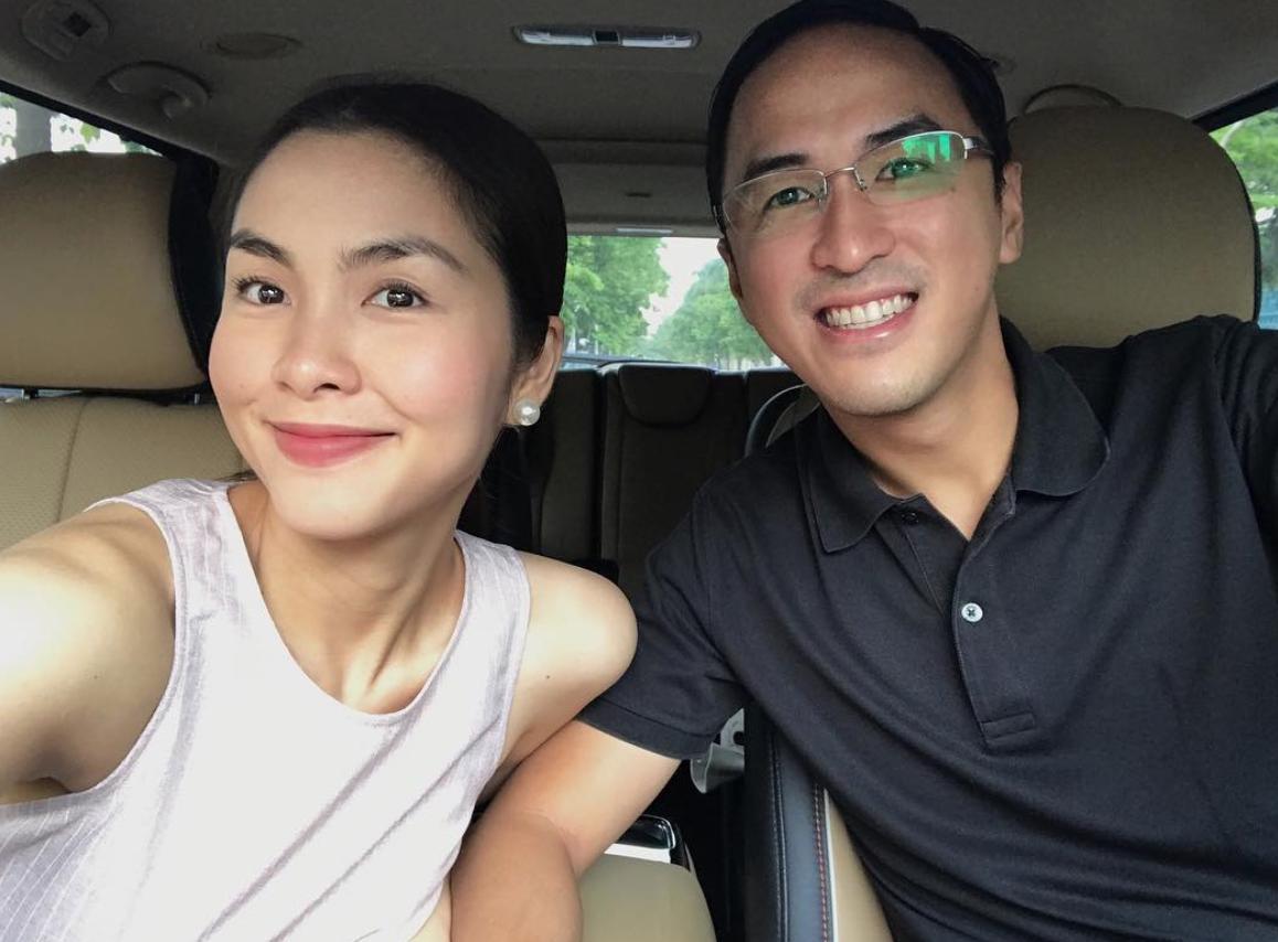 Hà Tăng và chồng kỷ niệm 5 năm ngày cưới trong không gian lãng mạn - Ảnh 4.
