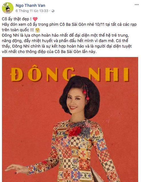 Đông Nhi sẽ đóng vai gì trong Cô Ba Sài Gòn? - Ảnh 5.