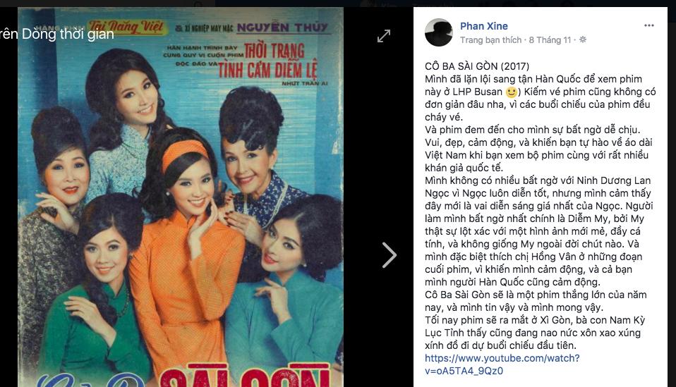Tăng Thanh Hà, Lương Mạnh Hải và nhiều sao Việt đồng loạt khen ngợi Cô Ba Sài Gòn hết lời - Ảnh 7.