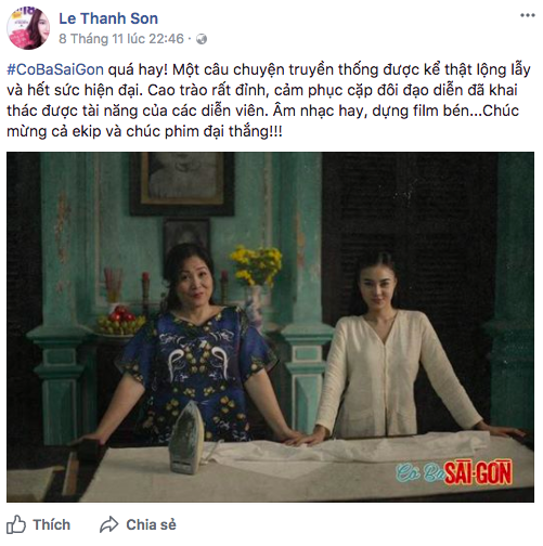 Tăng Thanh Hà, Lương Mạnh Hải và nhiều sao Việt đồng loạt khen ngợi Cô Ba Sài Gòn hết lời - Ảnh 6.