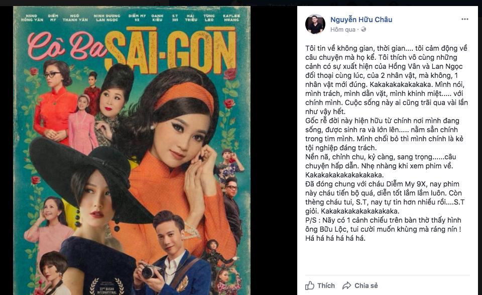 Tăng Thanh Hà, Lương Mạnh Hải và nhiều sao Việt đồng loạt khen ngợi Cô Ba Sài Gòn hết lời - Ảnh 8.