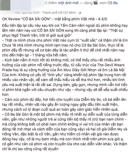 Tăng Thanh Hà, Lương Mạnh Hải và nhiều sao Việt đồng loạt khen ngợi Cô Ba Sài Gòn hết lời - Ảnh 22.