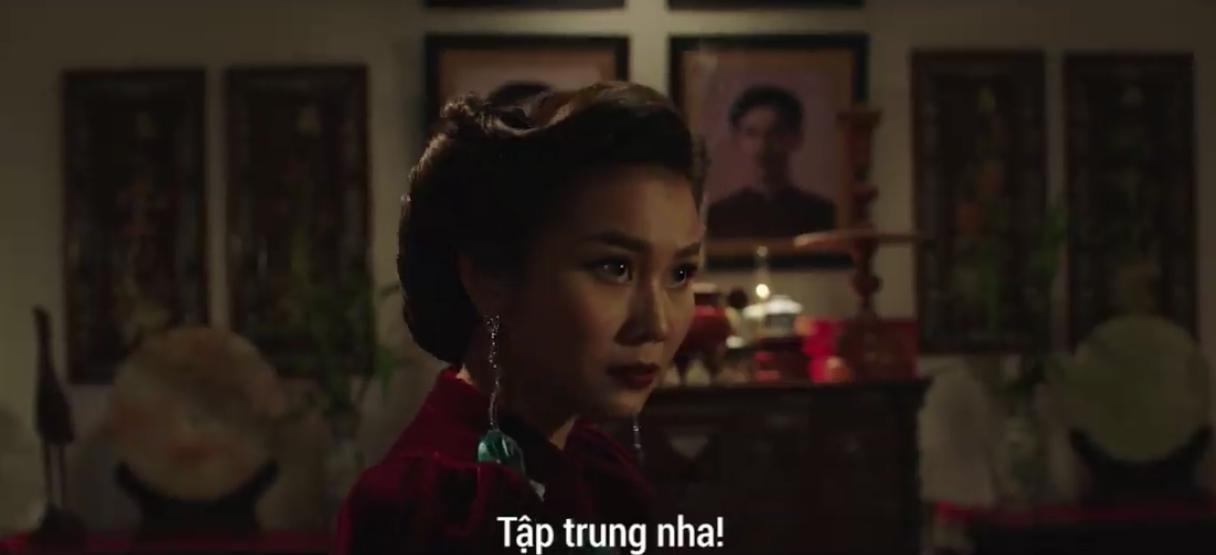 Clip: Thanh Hằng nhập tâm nên nổi giận, chĩa kéo vào mặt Song Luân trên phim trường Mẹ chồng - Ảnh 4.