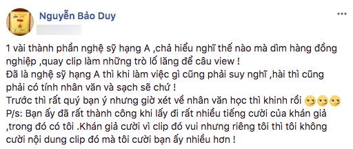 Đăng status ẩn ý, chồng cũ Phi Thanh Vân đá xéo Trấn Thành? - Ảnh 1.