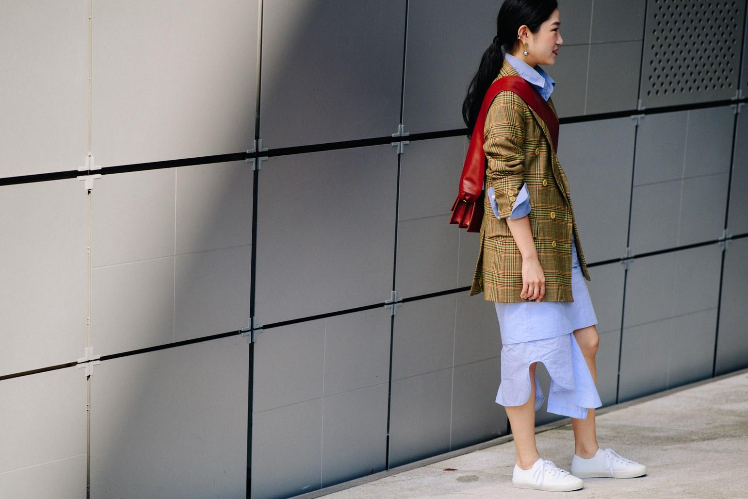 Seoul Fashion Week: Riêng về street style, giới trẻ Hàn nào có thua kém các ngôi sao nổi tiếng - Ảnh 2.
