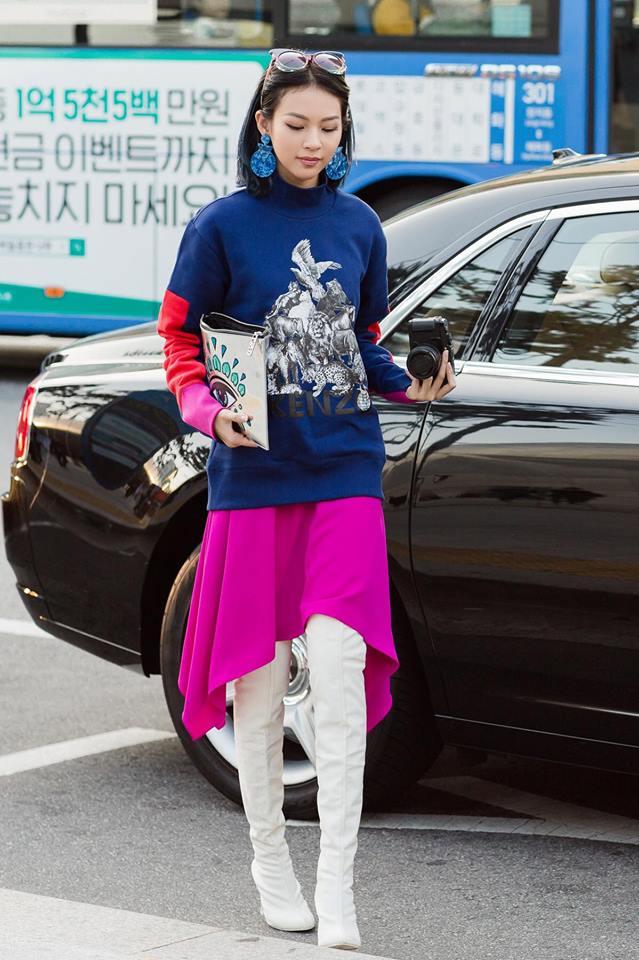 Hoàng Ku diện 700 triệu lên người, Phí Phương Anh mang Em Hoa đến chào sân Seoul Fashion Week - Ảnh 16.