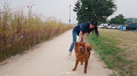 Seolhyun (AOA) bị netizen phản ứng dữ dội khi dắt chú chó cưng to bự đi dạo mà không sử dụng rọ mõm - Ảnh 3.