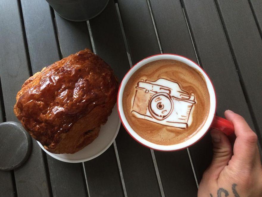 Triển lãm tranh hoạt hình cute trên những ly cà phê - Ảnh 13.