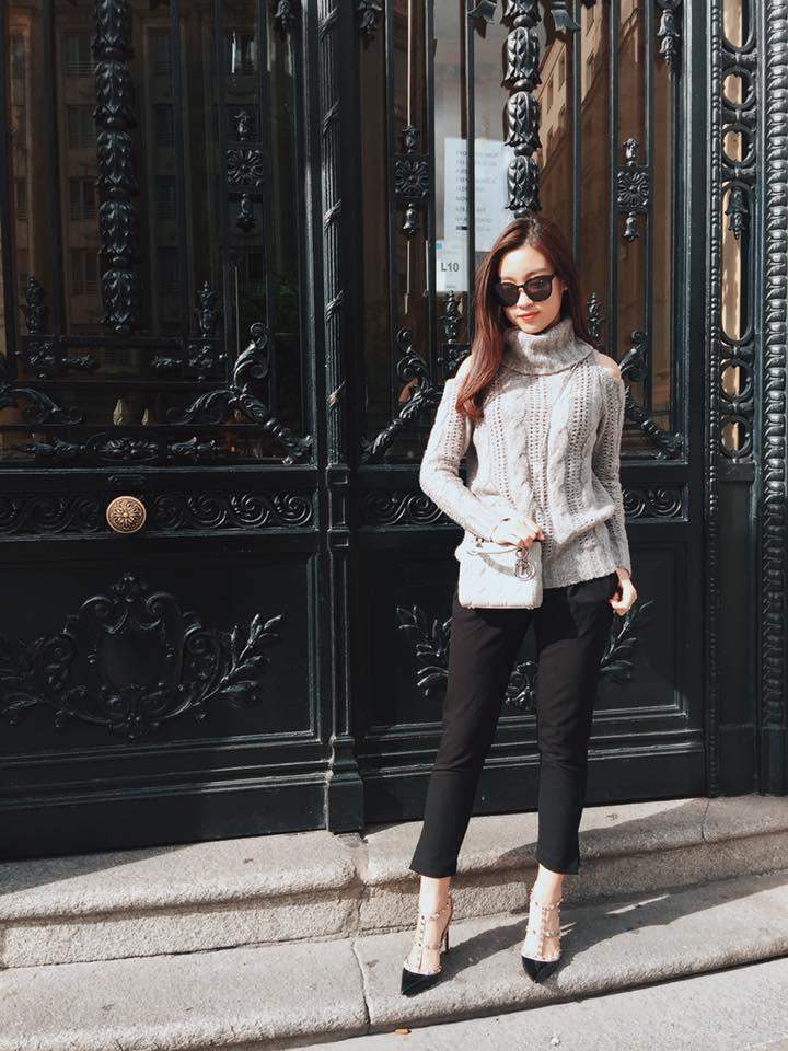 Midu, Mai Ngô, Lan Khuê sexy không đối thủ trong Top street style tuần qua - Ảnh 6.