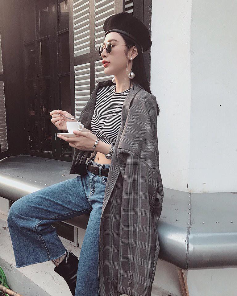 Cùng khoe ảnh chụp từ sau lưng, Hà Hồ - Thanh Hằng khiến đàn em ngả mũ vì street style quá xịn sò - Ảnh 3.