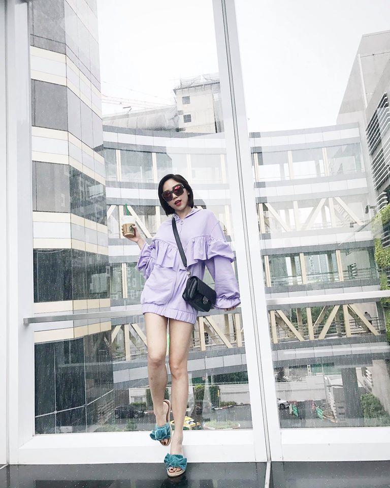 Midu, Mai Ngô, Lan Khuê sexy không đối thủ trong Top street style tuần qua - Ảnh 7.