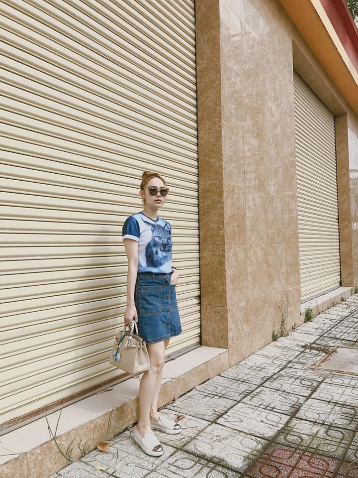 Cùng khoe ảnh chụp từ sau lưng, Hà Hồ - Thanh Hằng khiến đàn em ngả mũ vì street style quá xịn sò - Ảnh 9.