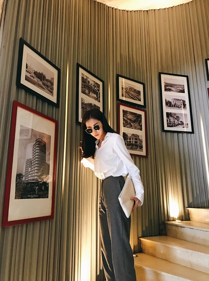 Hà Hồ vẫn chưa dứt cơn mê dép lau nhà, Phí Phương Anh bỗng hóa gái lạ vì style mới - Ảnh 7.