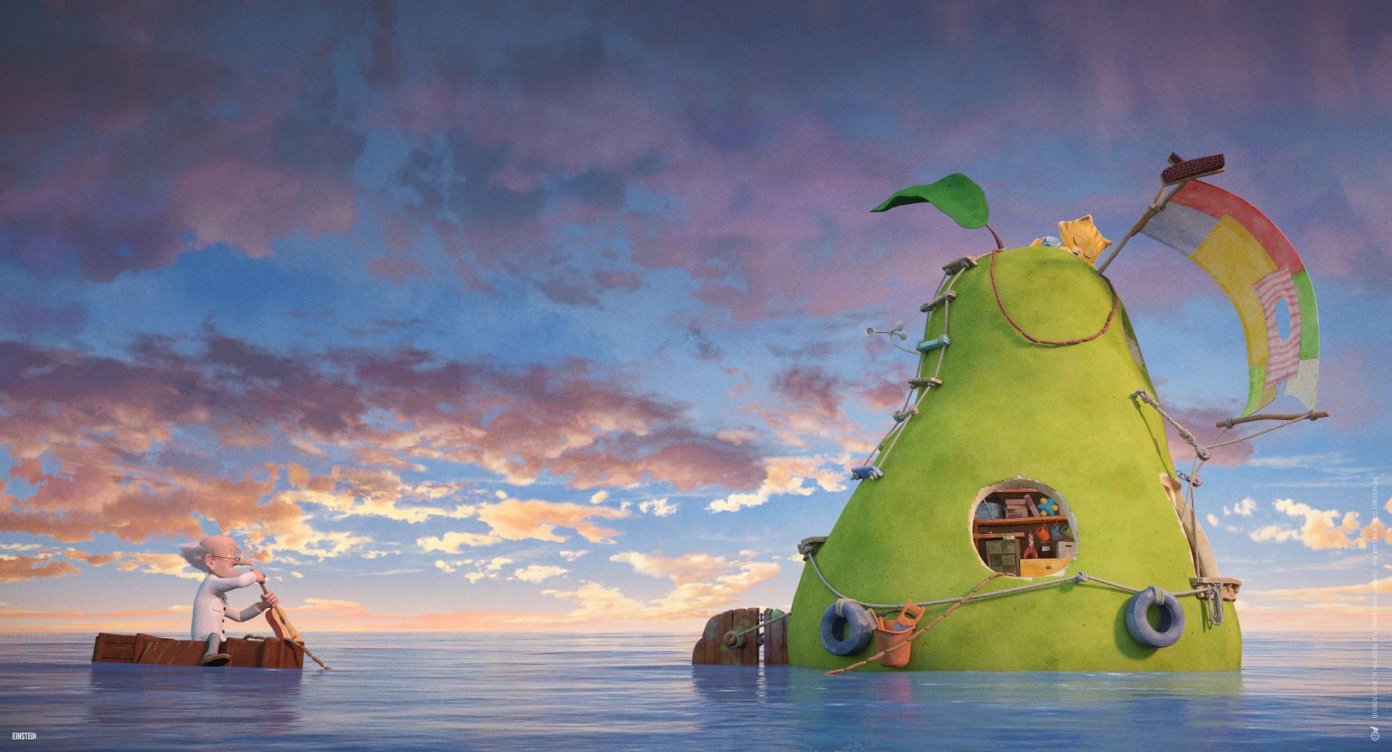 """""""The Incredible Story of The Giant Pear""""- Cuộc phiêu lưu của Quả lê khổng lồ"""