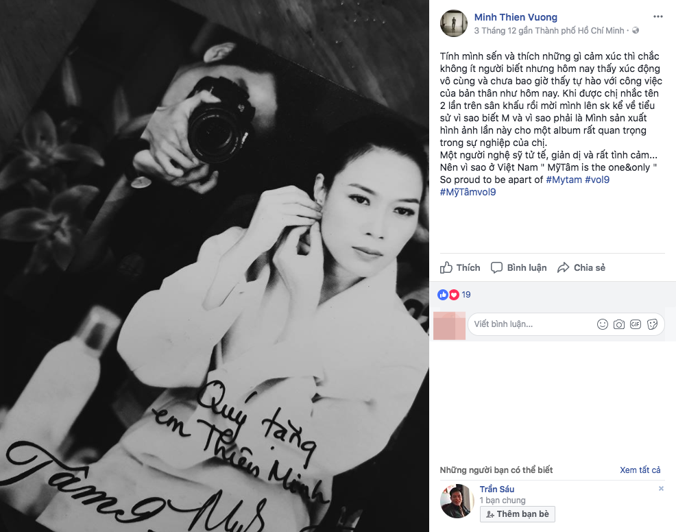 """Không chỉ fan, đông đảo nghệ sĩ cũng hào hứng khoe album Vol9 có """"chữ ký xịn"""" của Mỹ Tâm"""