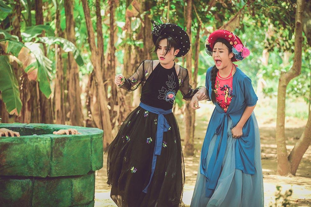 Huỳnh Lập gây ấn tượng mạnh khi dùng Lạc trôi của Sơn Tùng M-TP để tái hiện bi kịch cuộc đời mẹ Cám - Ảnh 5.