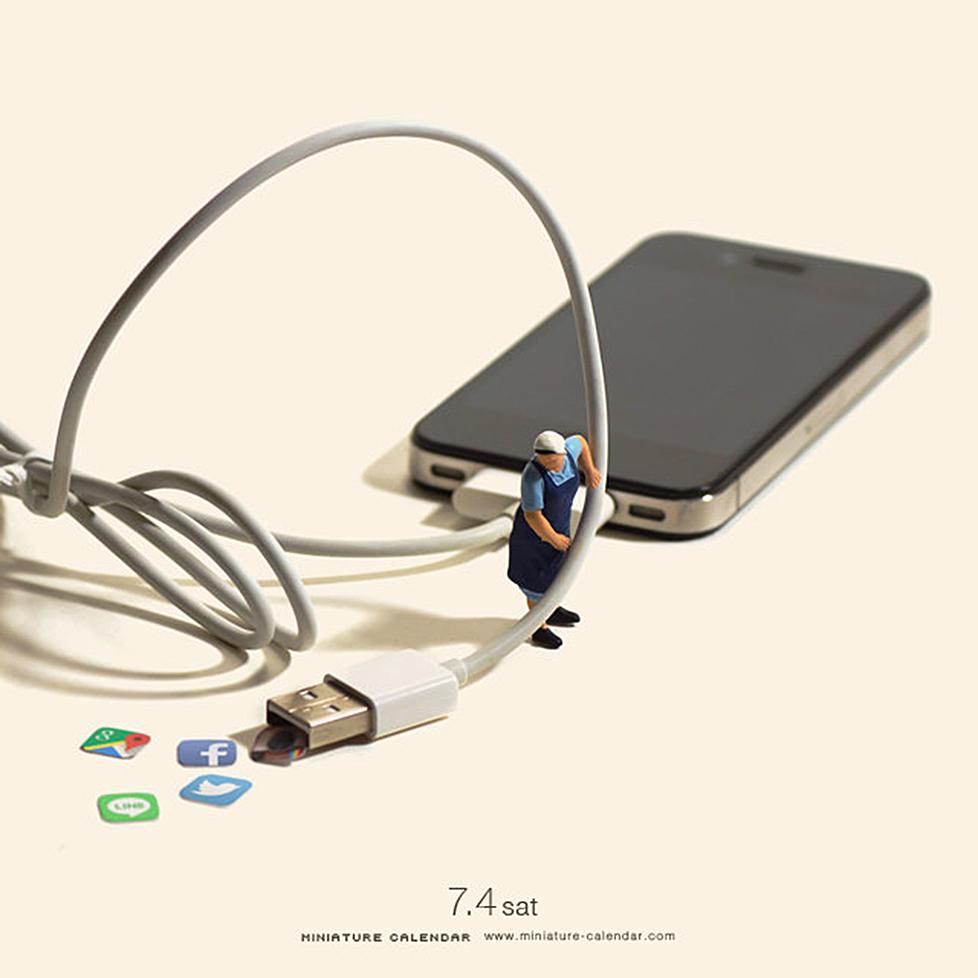 14 mô hình sắp đặt ấn tượng kết hợp từ smartphone - Ảnh 15.