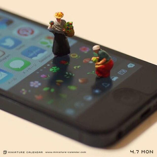 14 mô hình sắp đặt ấn tượng kết hợp từ smartphone - Ảnh 11.