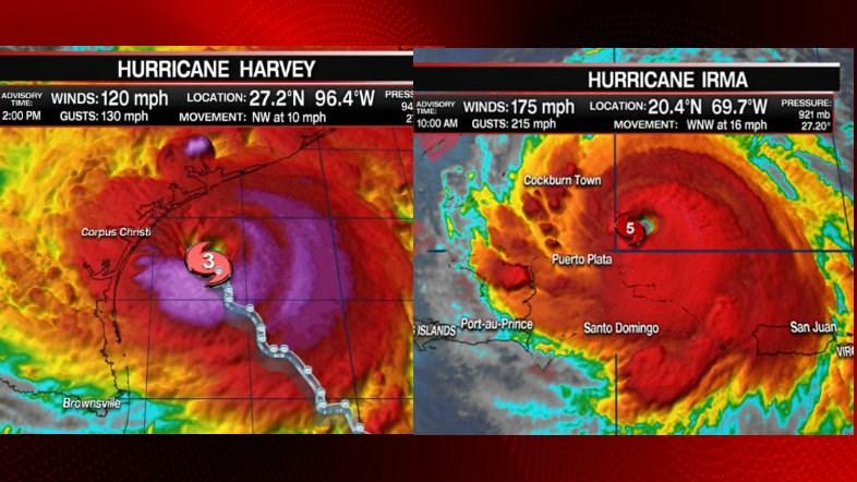 Đâu chỉ là tên của 2 cơn bão tàn khốc, Harvey và Irma còn là tên của 2 người có sự liên kết rất đặc biệt - Ảnh 2.