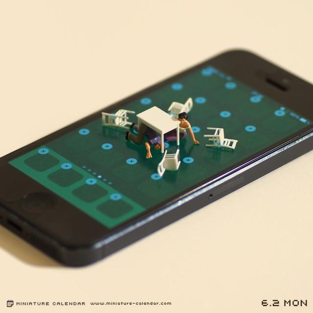14 mô hình sắp đặt ấn tượng kết hợp từ smartphone - Ảnh 9.