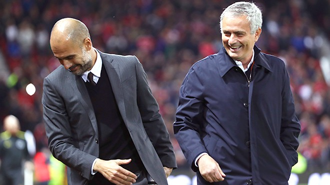 pep và mourinho