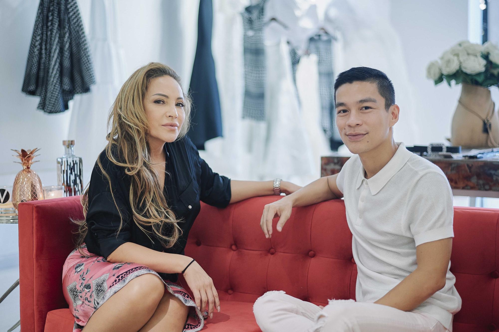 Kỳ Duyên ngày một ra dáng fashion icon, đọ sắc với Phạm Hương trong buổi thử đồ của NTK Adrian Anh Tuấn - Ảnh 9.