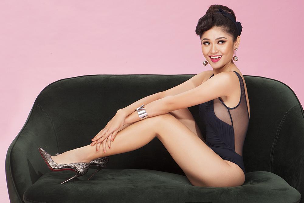 Á hậu Thùy Dung khoe hình thể gợi cảm với áo tắm trước ngày tham gia Hoa hậu Quốc tế 2017 - Ảnh 7.