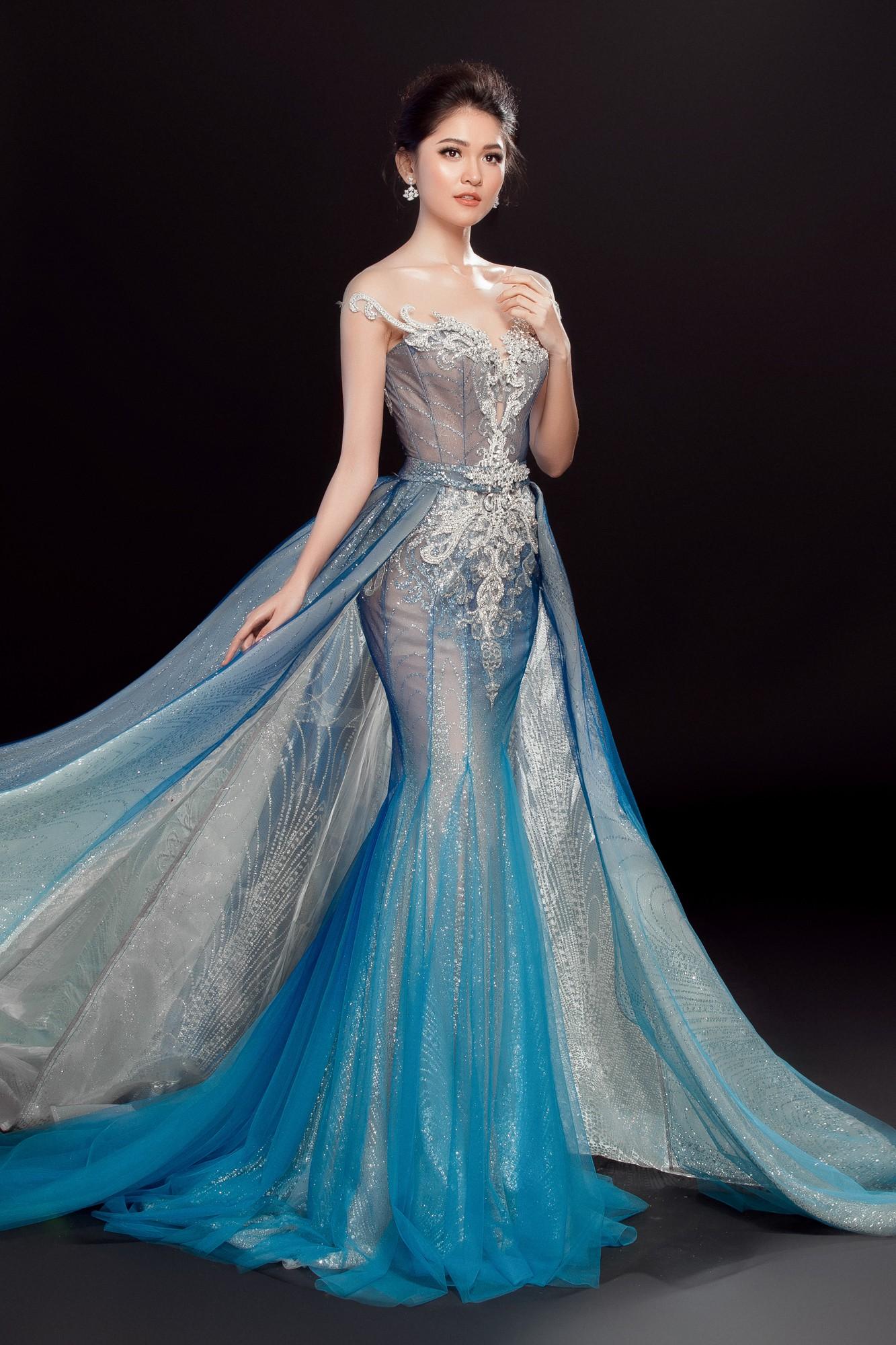 Á hậu Thùy Dung lộng lẫy như công chúa trong đầm dạ hội chính thức tại chung kết Miss International 2017 - Ảnh 2.
