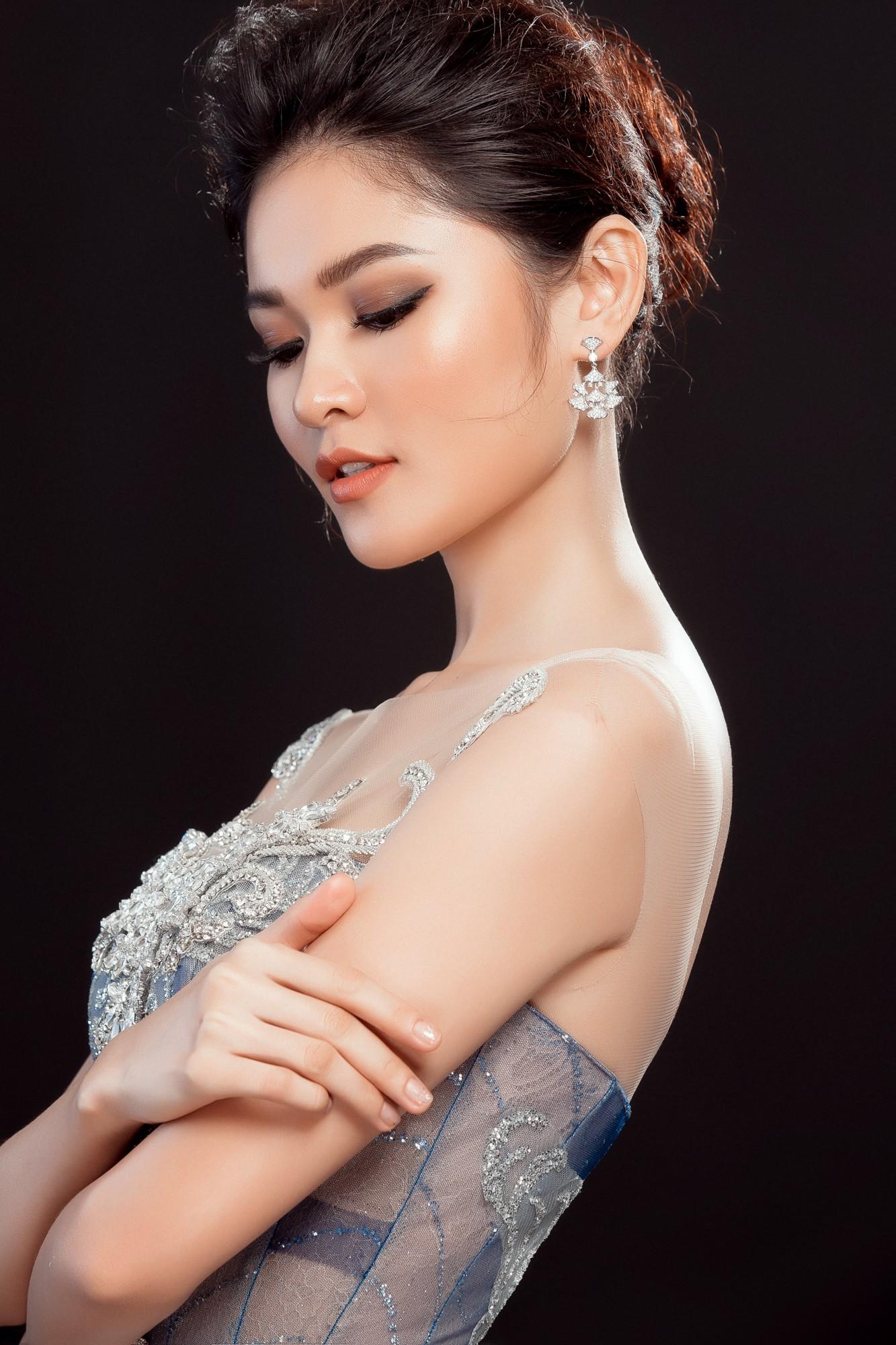 Á hậu Thùy Dung lộng lẫy như công chúa trong đầm dạ hội chính thức tại chung kết Miss International 2017 - Ảnh 5.