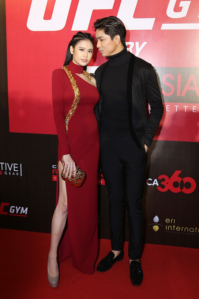 Trương Quỳnh Anh - Tim chăm diện thời trang ton-sur-ton nhất mỗi khi song hành trên thảm đỏ- Ảnh 12.