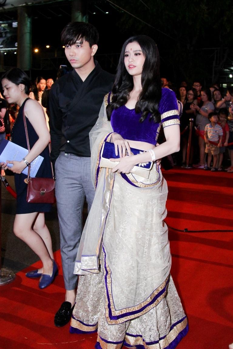 Trương Quỳnh Anh - Tim chăm diện thời trang ton-sur-ton nhất mỗi khi song hành trên thảm đỏ- Ảnh 17.