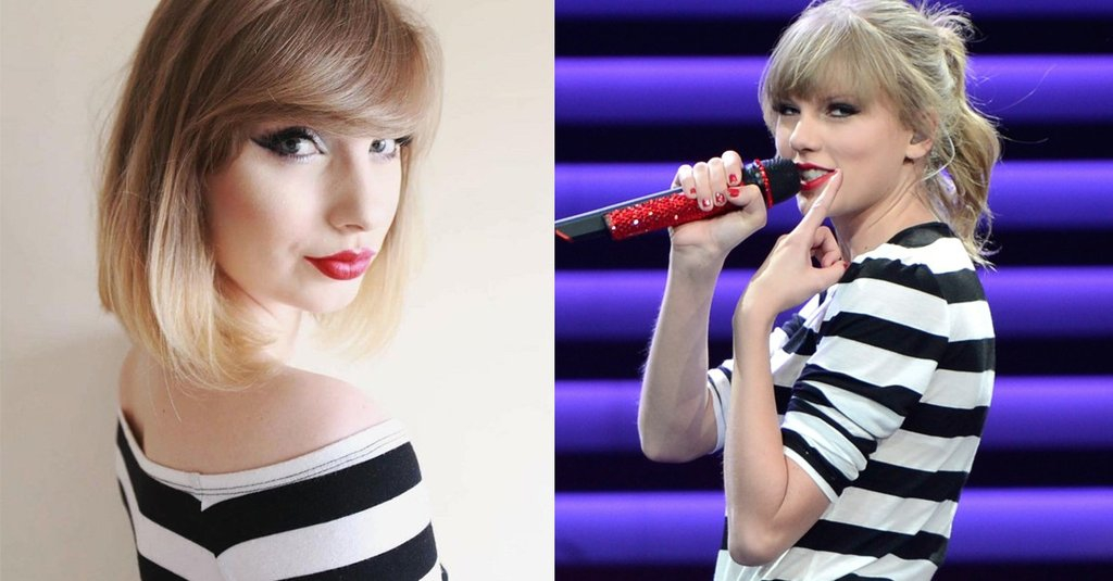 Muốn xinh như Taylor Swift, bạn chỉ cần học makeup và mix đồ như cô gái này - Ảnh 1.