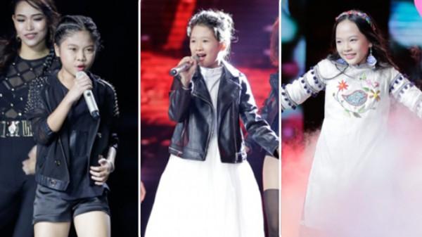 Khách mời Đông Nhi thể hiện lại hit chiến thắng của học trò, Giọng hát Việt nhí 2017 lộ Top 3 chung cuộc - Ảnh 9.