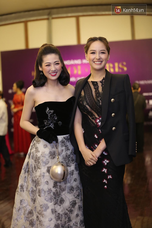 Hoa hậu Mỹ Linh đẹp dịu dàng, Tú Anh dừ bất ngờ, Mai Phương Thúy tái xuất trên thảm đỏ show Hoàng Hải - Ảnh 3.