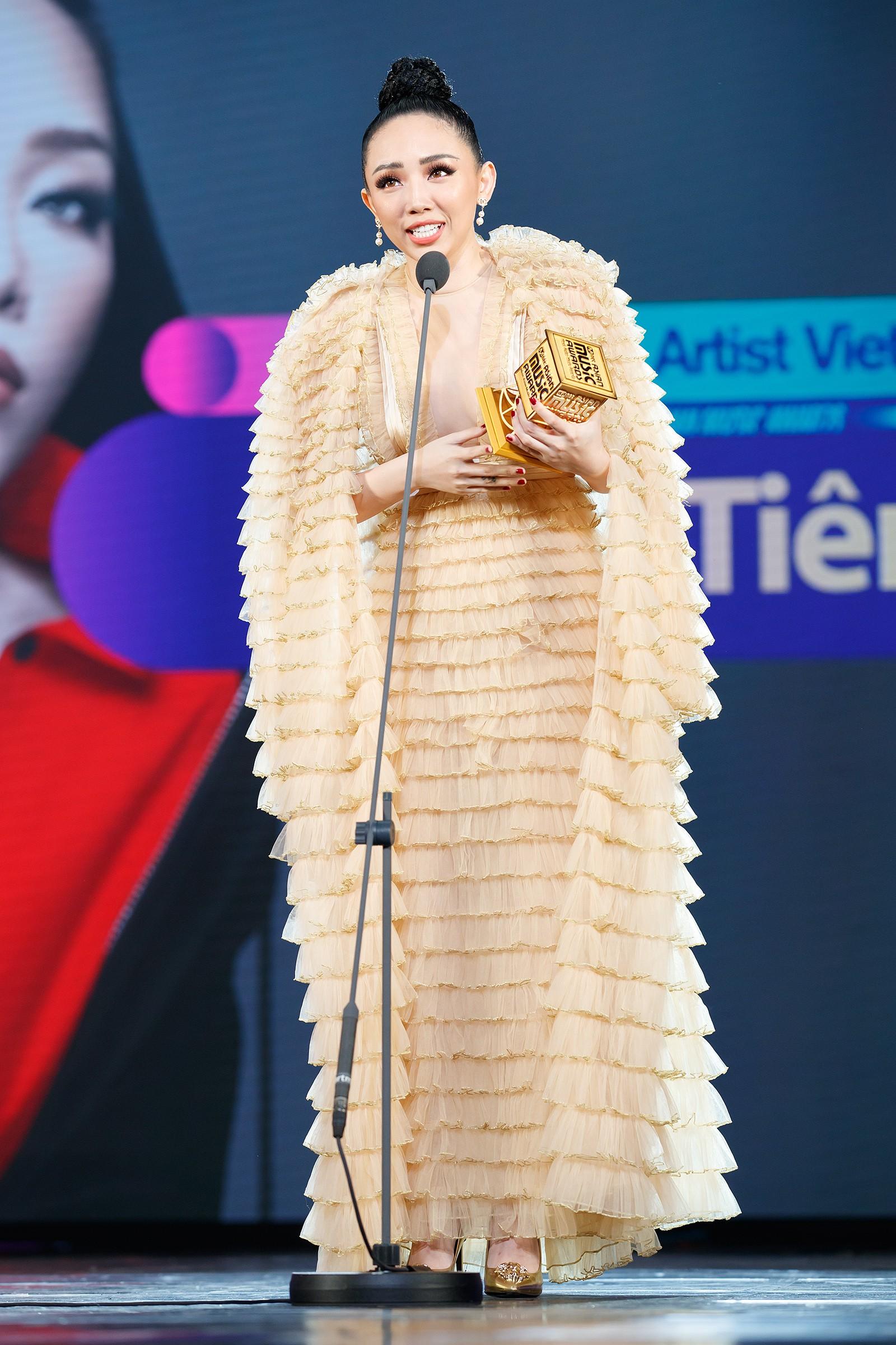 Sau Noo Phước Thịnh, Tóc Tiên chiến thắng giải Best Asian Artist in Vietnam của MAMA 2017 - Ảnh 4.