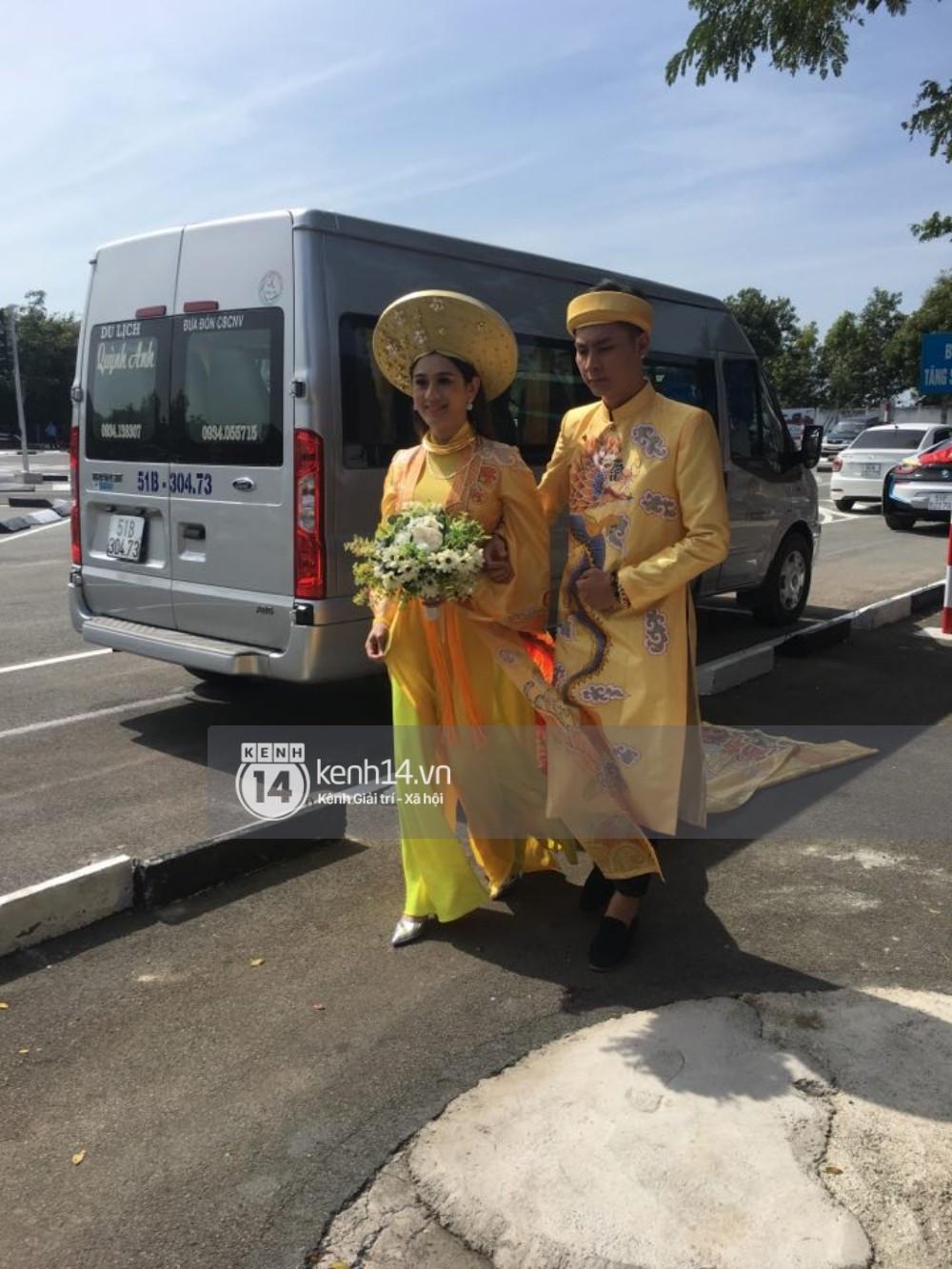 Lâm Khánh Chi đã về đến nhà chồng, cùng chú rể làm lễ vái gia tiên tại Vũng Tàu - Ảnh 5.